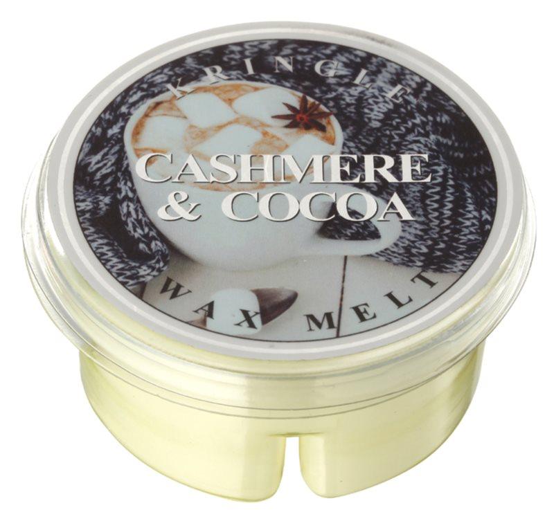 Kringle Candle Cashmere & Cocoa Wachs für Aromalampen 35 g