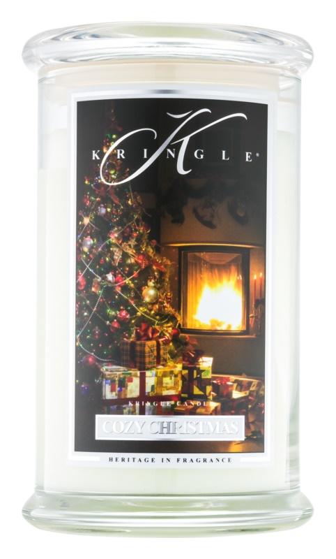 Kringle Candle Cozy Christmas candela profumata 624 g