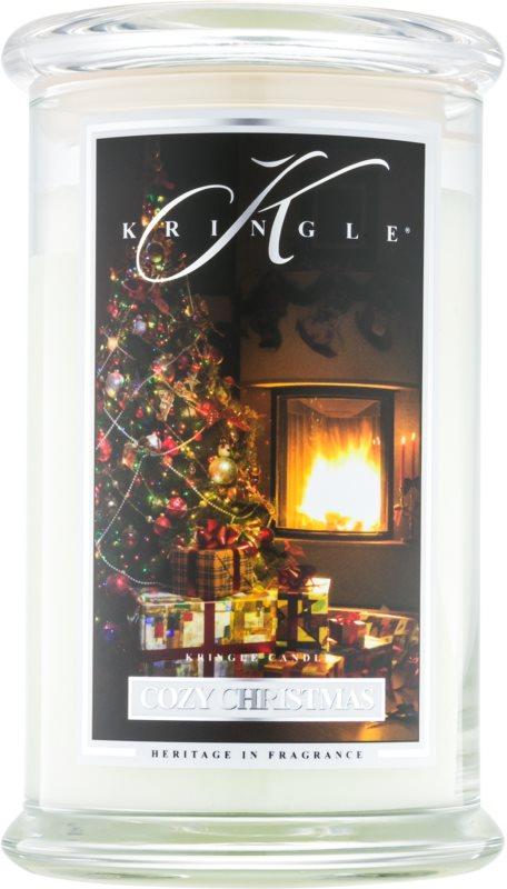 Kringle Candle Cozy Christmas lumânare parfumată  624 g