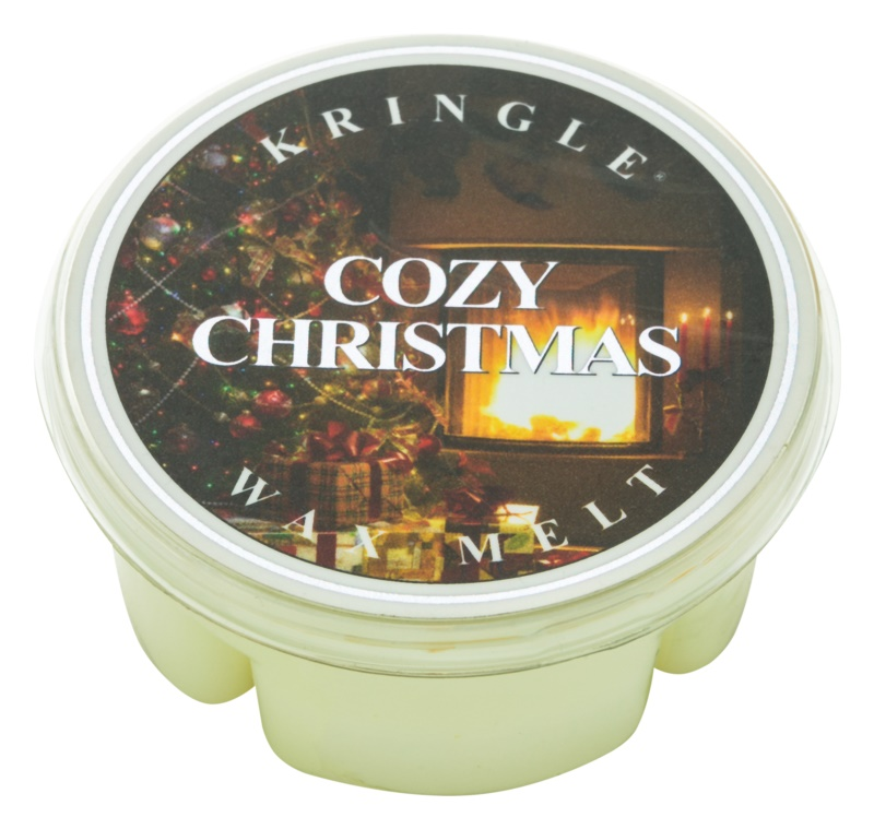Kringle Candle Cozy Christmas Wachs für Aromalampen 35 g
