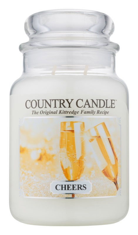 Kringle Candle Country Candle Cheers Scented Candle 652 g