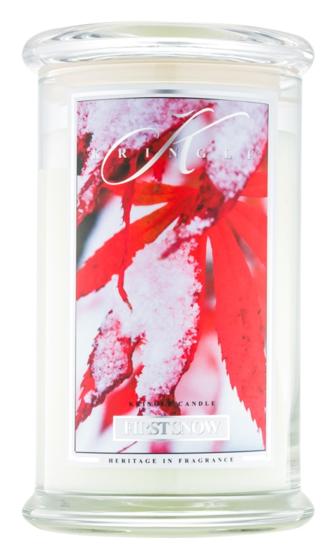 Kringle Candle First Snow Scented Candle 624 g