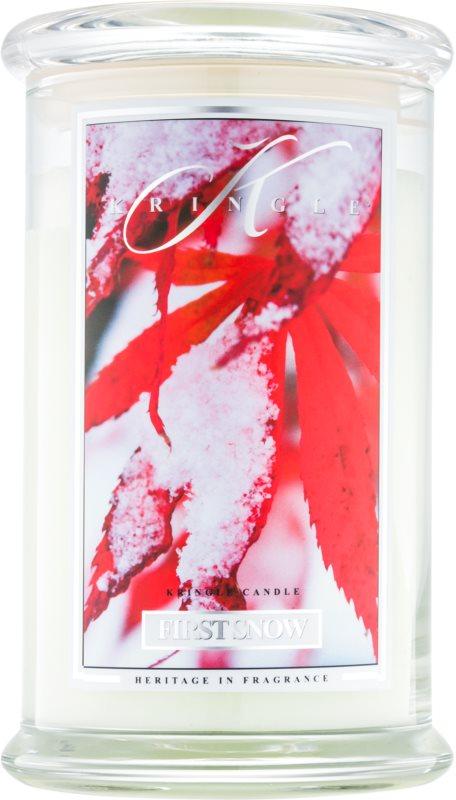 Kringle Candle First Snow vonná svíčka 624 g