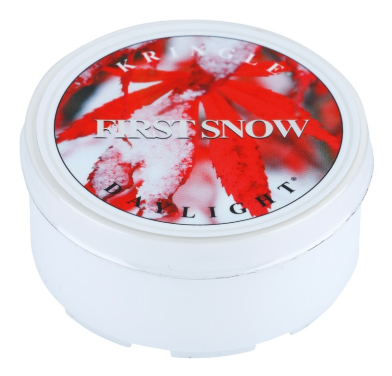 Kringle Candle First Snow teamécses 35 g