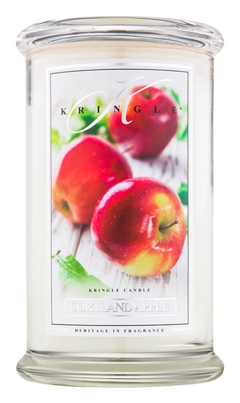 Kringle Candle Cortland Apple vonná sviečka 624 g