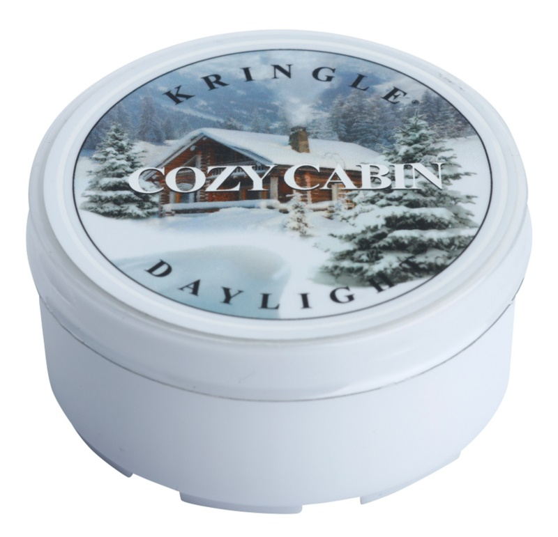 Kringle Candle Cozy Cabin bougie chauffe-plat 35 g