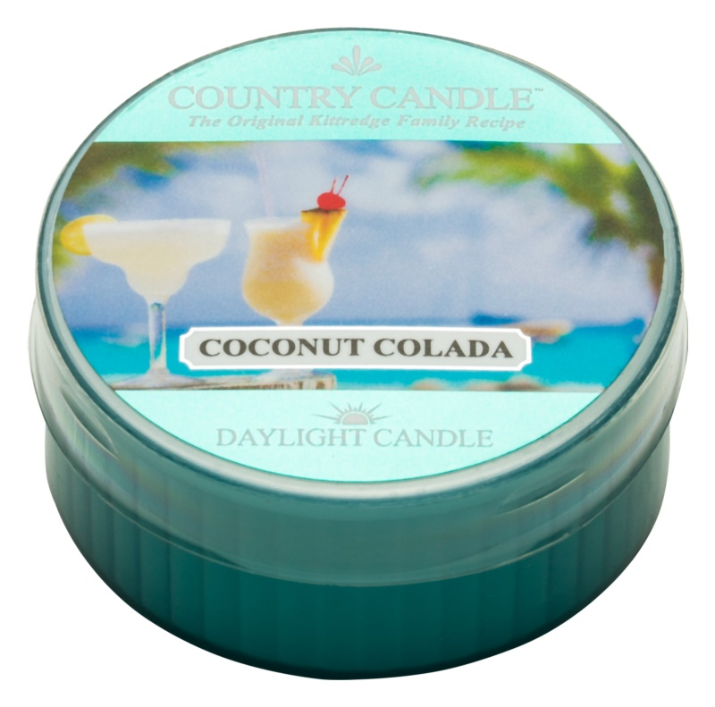 Country Candle Coconut Colada čajová svíčka 42 g