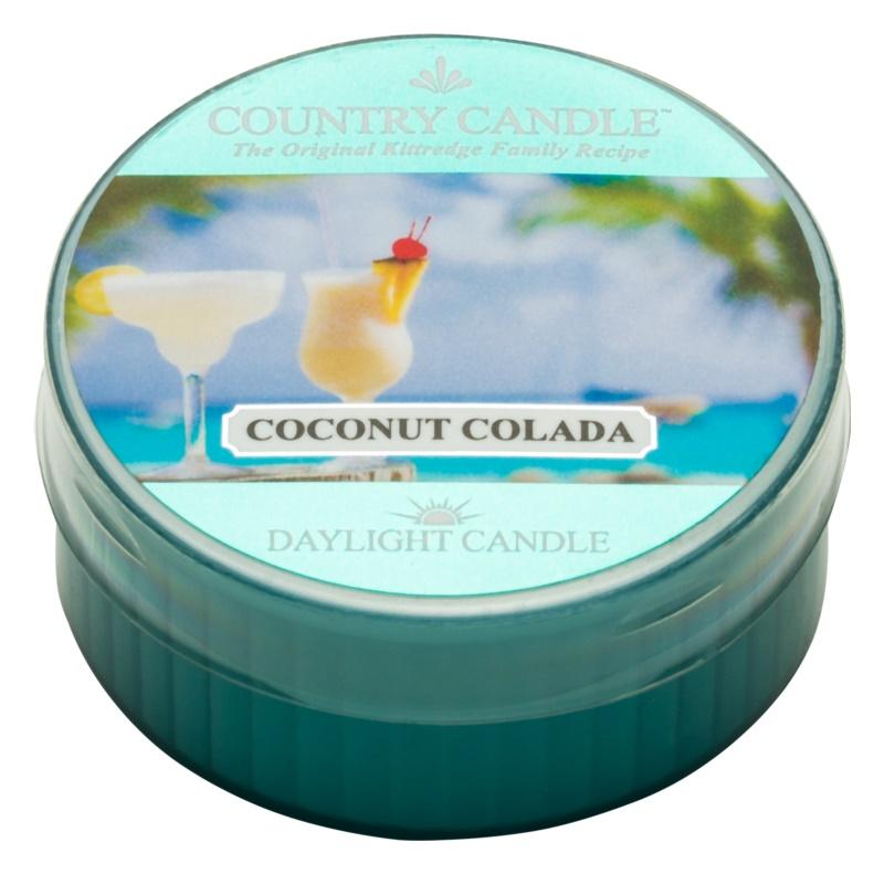 Kringle Candle Country Candle Coconut Colada čajová sviečka 42 g