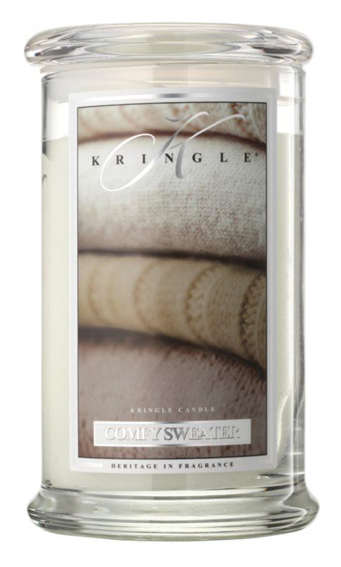 Kringle Candle Comfy Sweater ароматизована свічка  624 гр