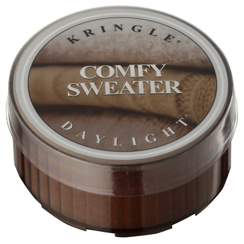 Kringle Candle Comfy Sweater čajová svíčka 35 g