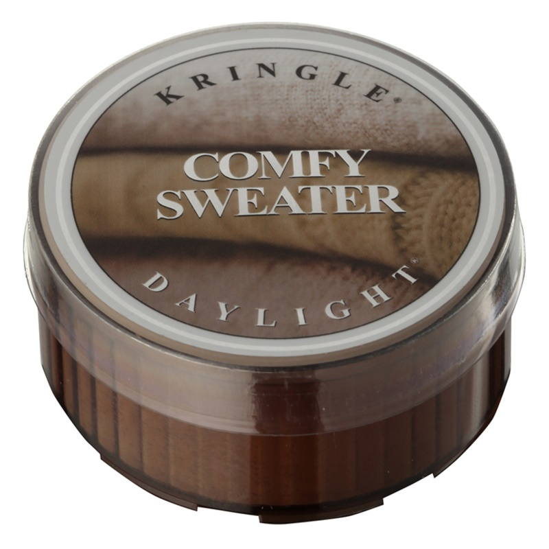 Kringle Candle Comfy Sweater čajová sviečka 35 g