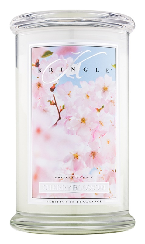 Kringle Candle Cherry Blossom bougie parfumée 624 g