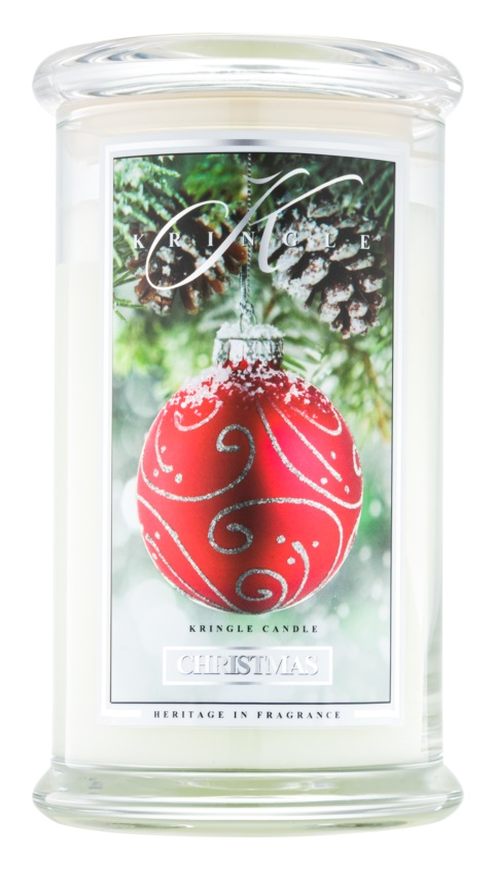 Kringle Candle Christmas vonná svíčka 624 g