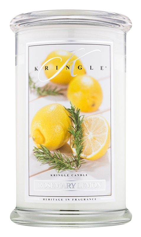 Kringle Candle Rosemary Lemon ароматна свещ  624 гр.