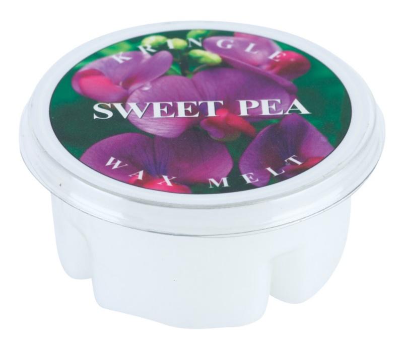 Kringle Candle Sweet Pea illatos viasz aromalámpába 35 g