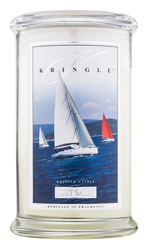 Kringle Candle Set Sail vonná sviečka 624 g