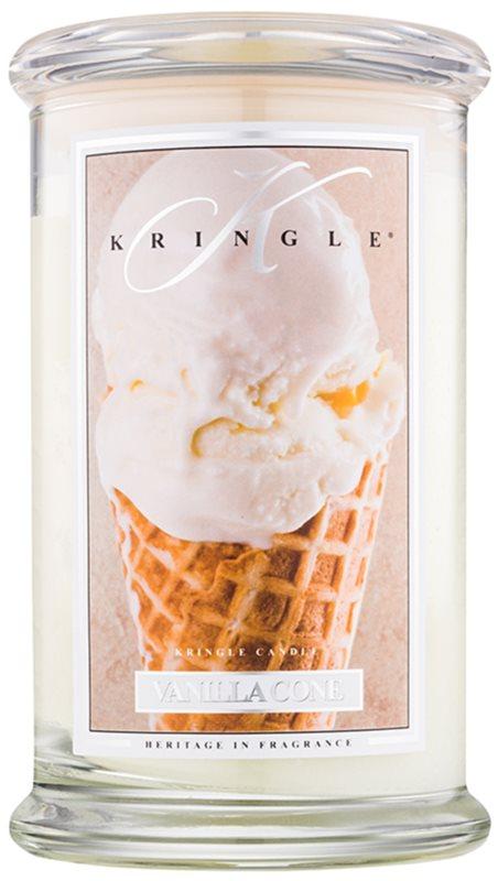 Kringle Candle Vanilla Cone dišeča sveča  624 g