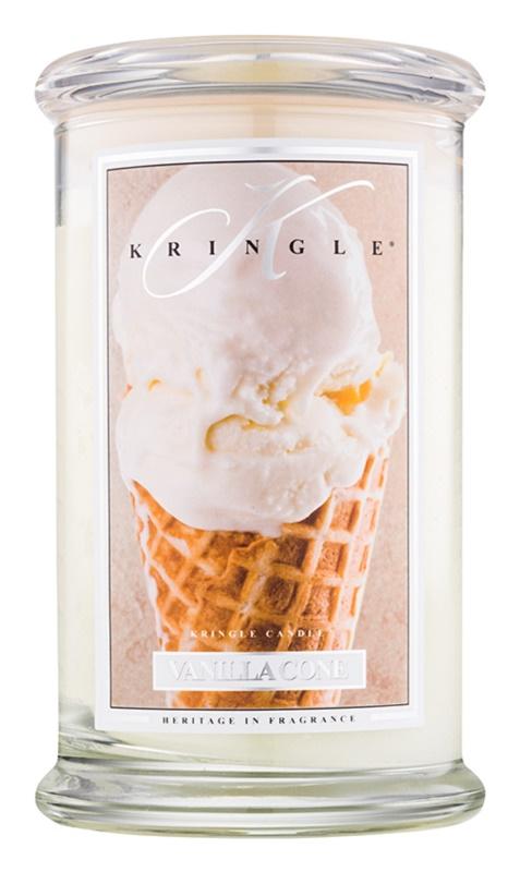 Kringle Candle Vanilla Cone vonná sviečka 624 g