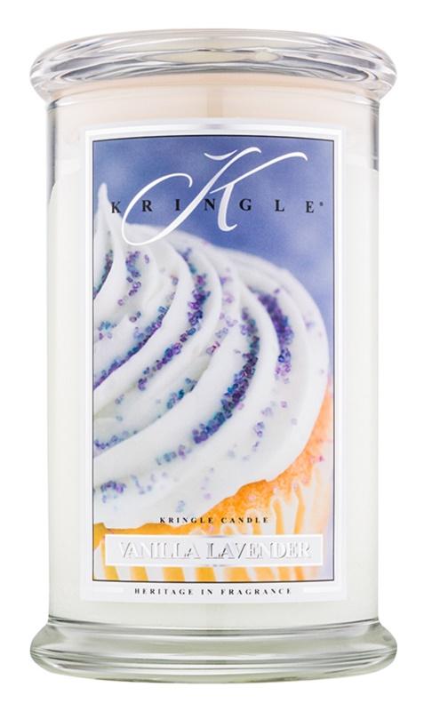 Kringle Candle Vanilla Lavender vonná sviečka 624 g