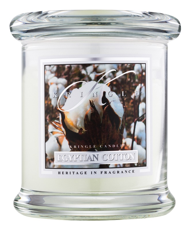Kringle Candle Egyptian Cotton ароматна свещ  127 гр.