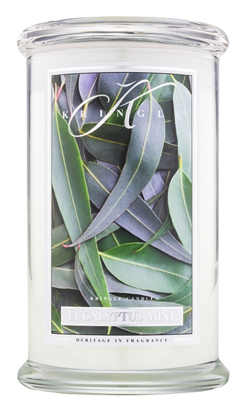 Kringle Candle Eucalyptus Mint vela perfumado 624 g