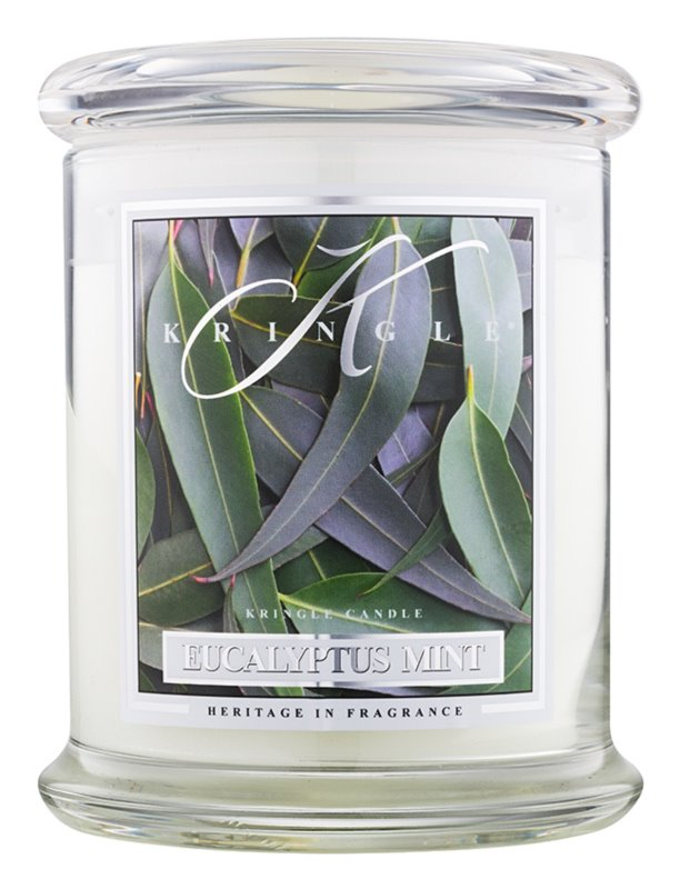 Kringle Candle Eucalyptus Mint bougie parfumée 411 g