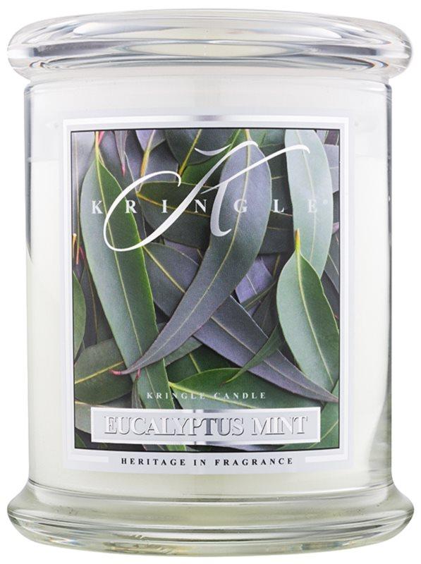 Kringle Candle Eucalyptus Mint vela perfumado 411 g