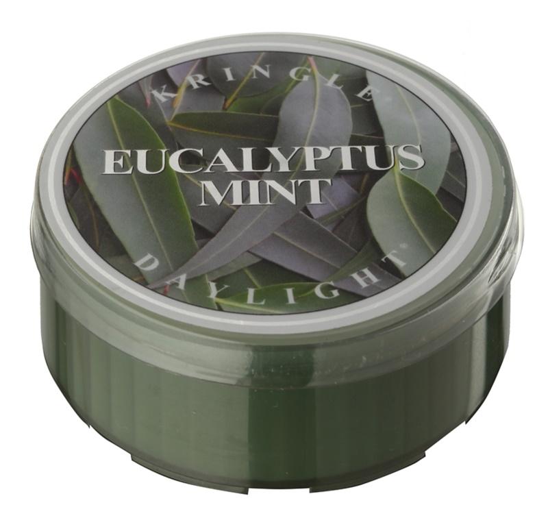Kringle Candle Eucalyptus Mint čajová sviečka 35 g