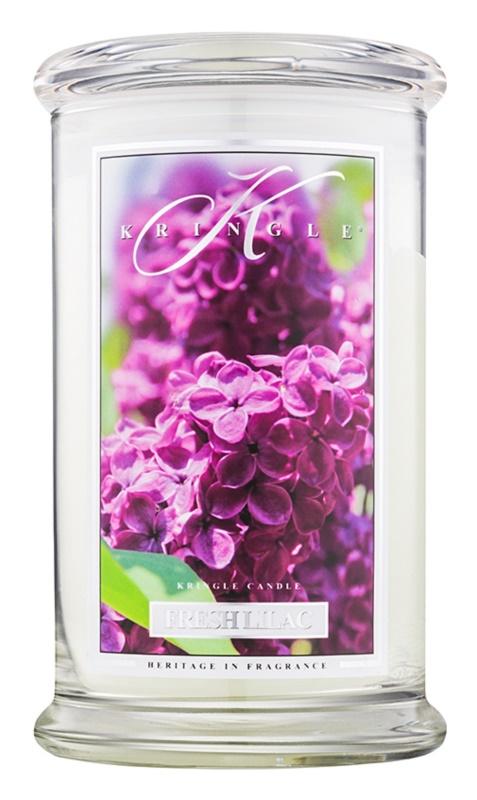 Kringle Candle Fresh Lilac vonná sviečka 624 g