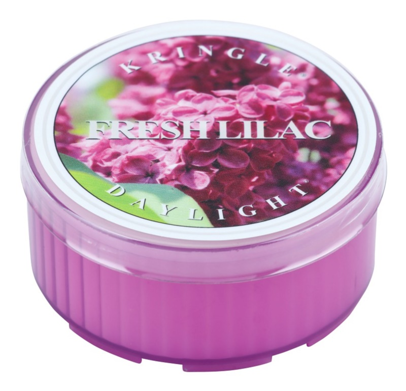 Kringle Candle Fresh Lilac čajová sviečka 35 g