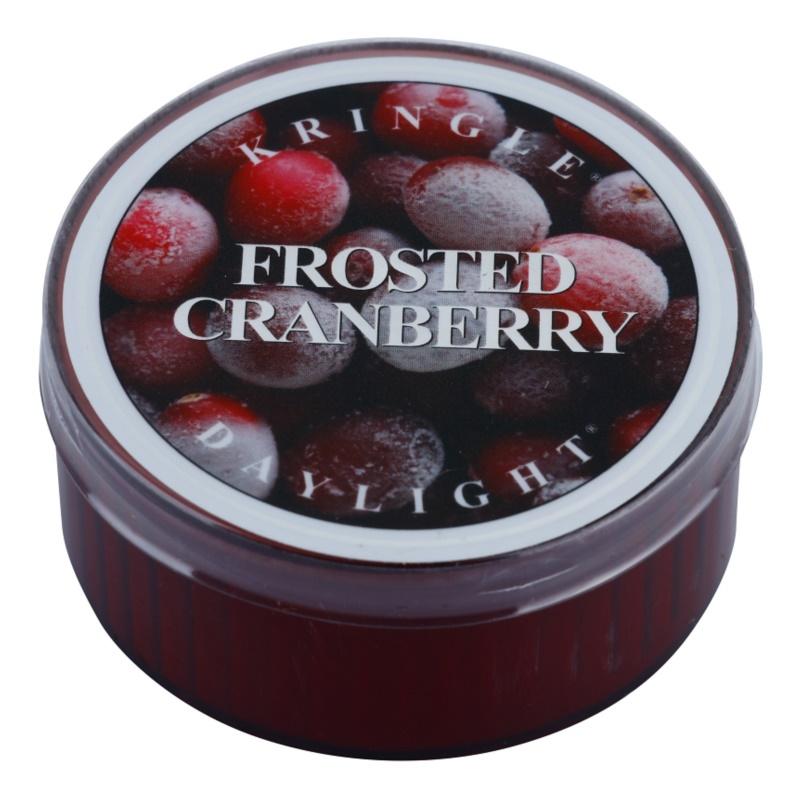 Kringle Candle Frosted Cranberry čajová sviečka 35 g