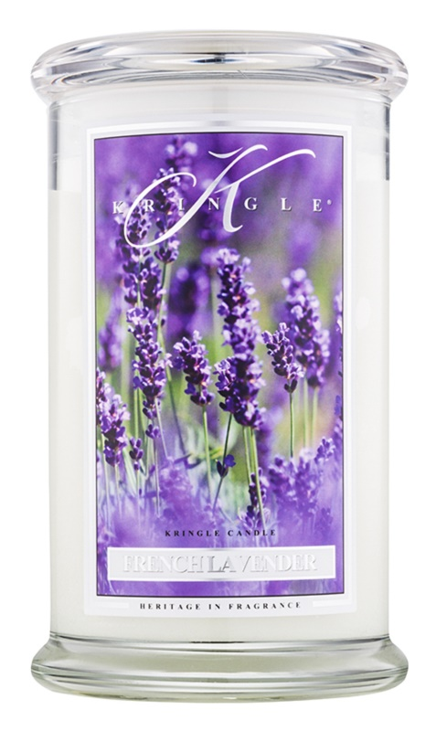 Kringle Candle French Lavender Scented Candle 624 g