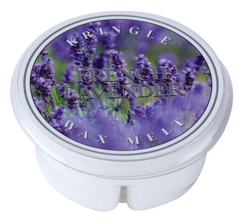 Kringle Candle French Lavender Wachs für Aromalampen 35 g