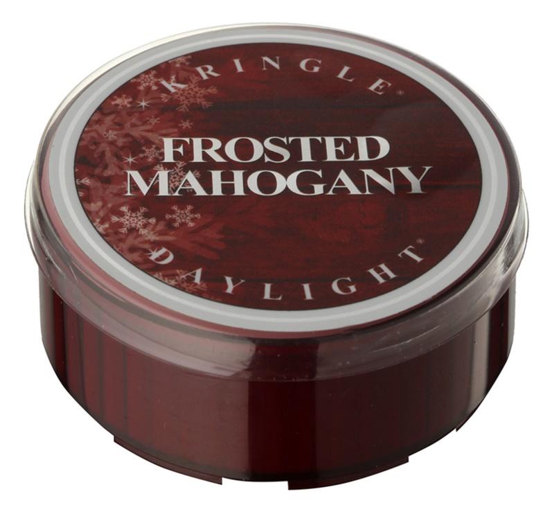 Kringle Candle Frosted Mahogany świeczka typu tealight 35 g