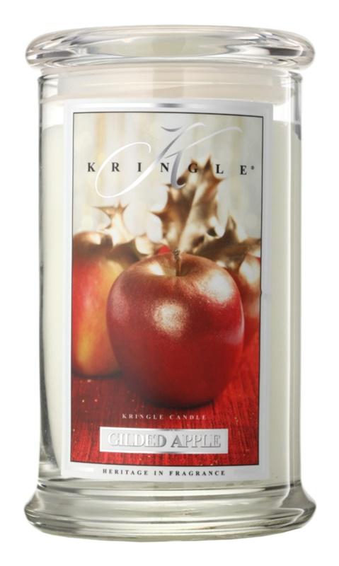 Kringle Candle Gilded Apple dišeča sveča  624 g
