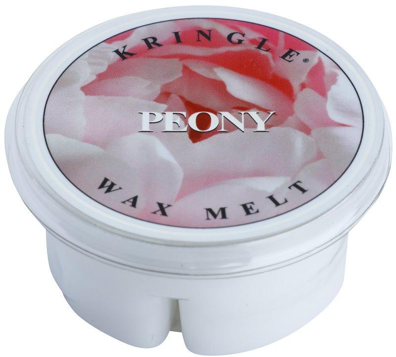 Kringle Candle Peony cera per lampada aromatica 35 g