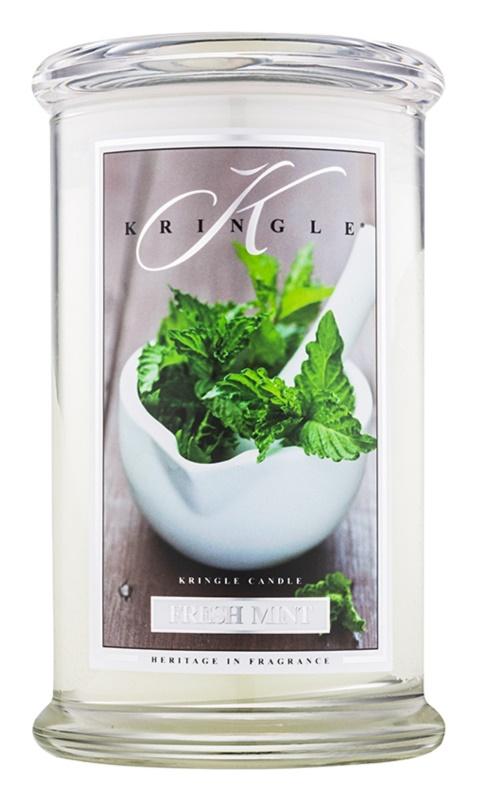 Kringle Candle Fresh Mint illatos gyertya  624 g