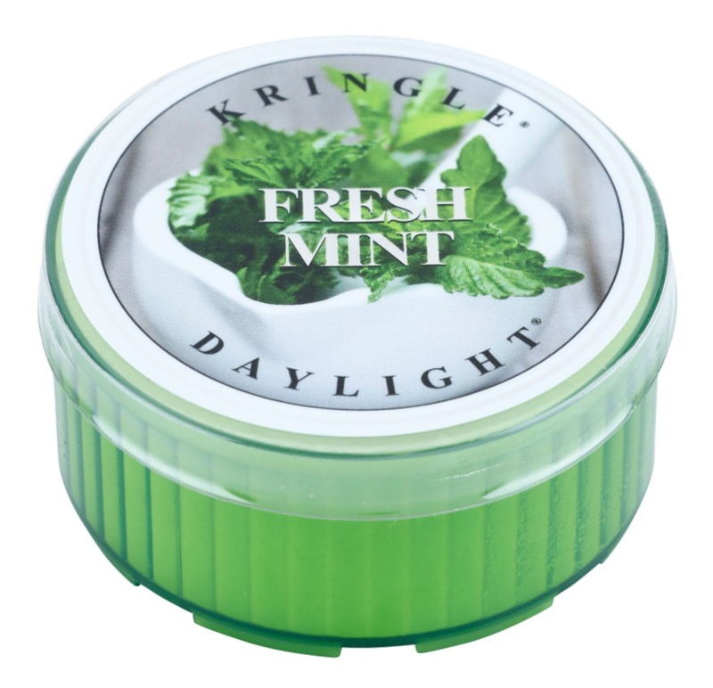 Kringle Candle Fresh Mint čajová svíčka 35 g