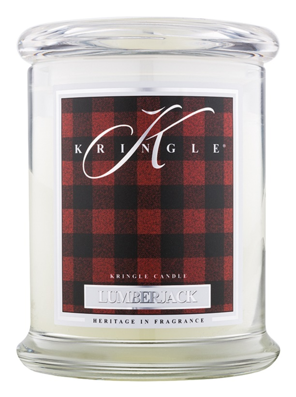 Kringle Candle Lumberjack vela perfumado 411 g