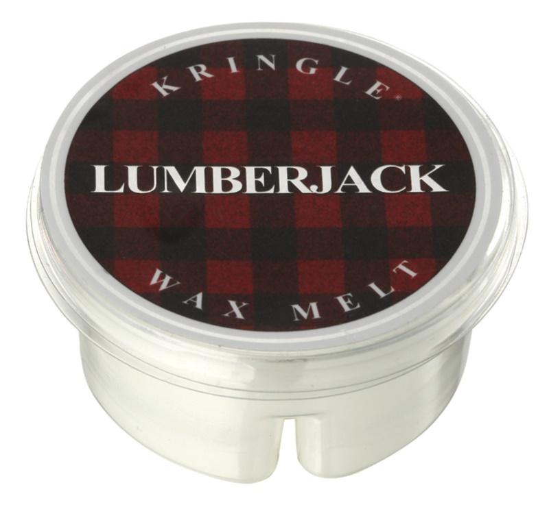 Kringle Candle Lumberjack illatos viasz aromalámpába 35 g