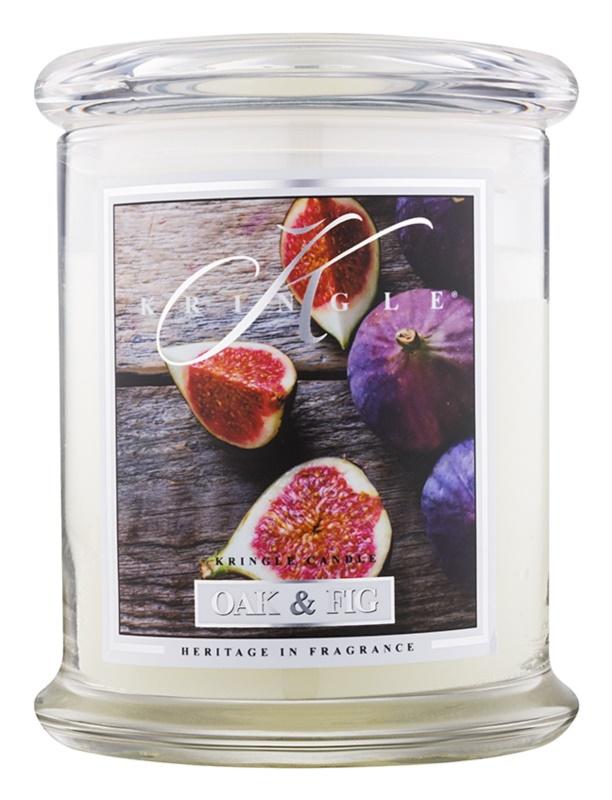 Kringle Candle Oak & Fig vonná sviečka 411 g