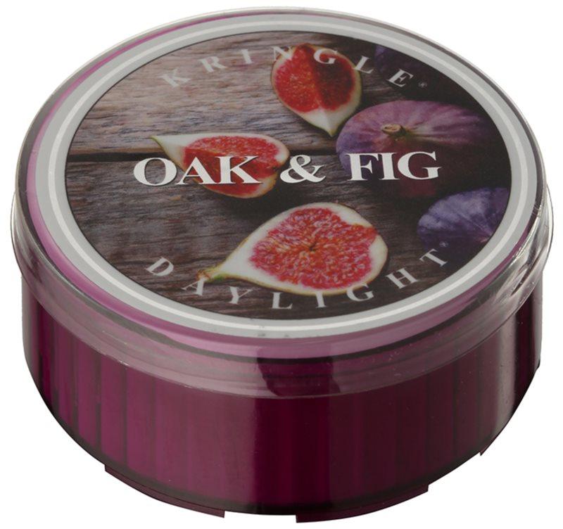 Kringle Candle Oak & Fig świeczka typu tealight 35 g