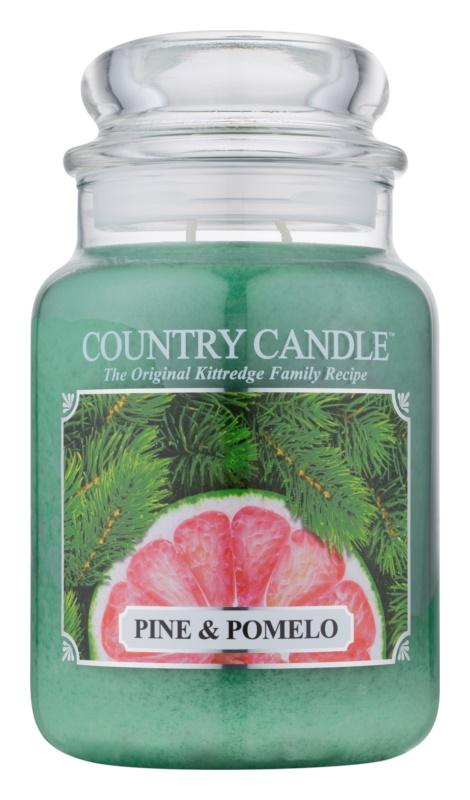 Country Candle Pine & Pomelo Mirisna svijeća 652 g