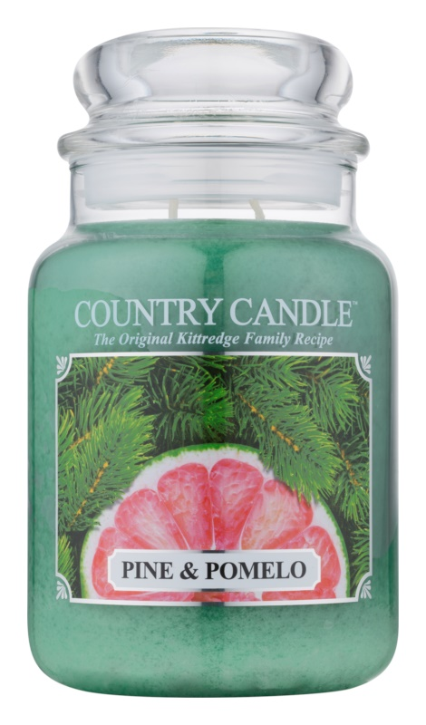Kringle Candle Country Candle Pine & Pomelo illatos gyertya  652 g