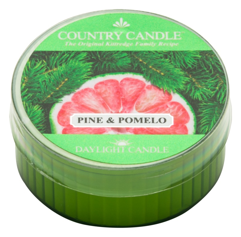 Country Candle Pine & Pomelo candela scaldavivande 42 g