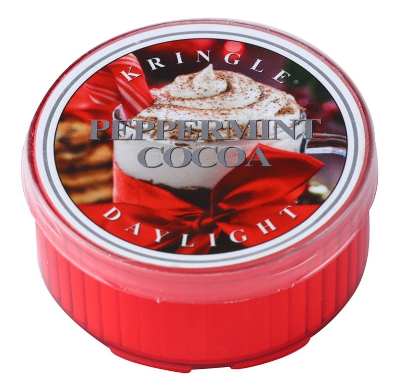 Kringle Candle Peppermint Cocoa Tealight Candle 35 g