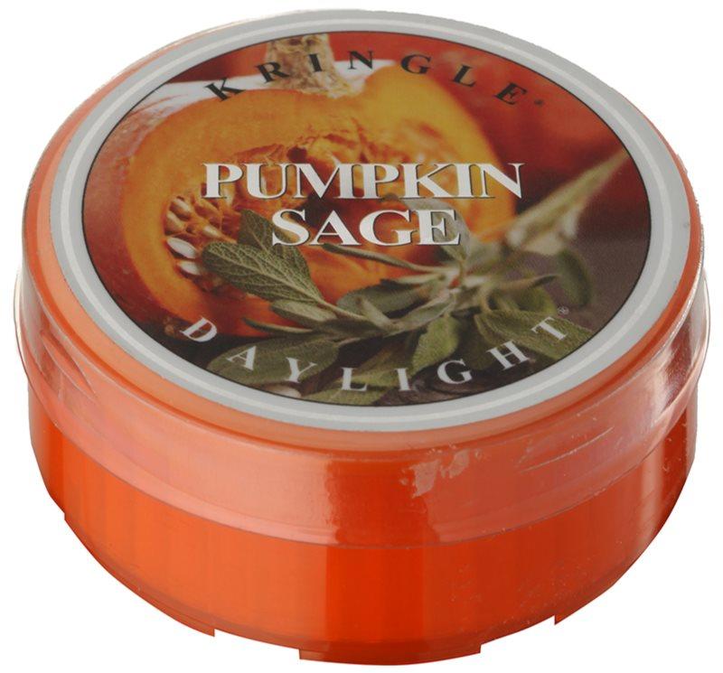 Kringle Candle Pumpkin Sage čajová svíčka 35 g