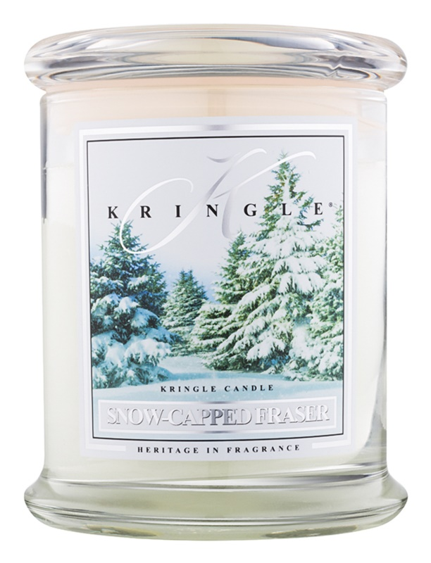 Kringle Candle Snow Capped Fraser bougie parfumée 411 g