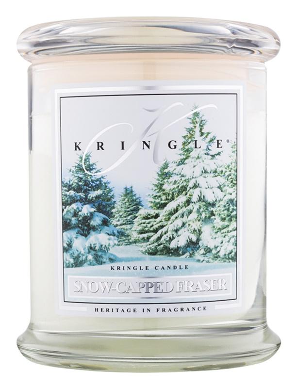 Kringle Candle Snow Capped Fraser vonná sviečka 411 g