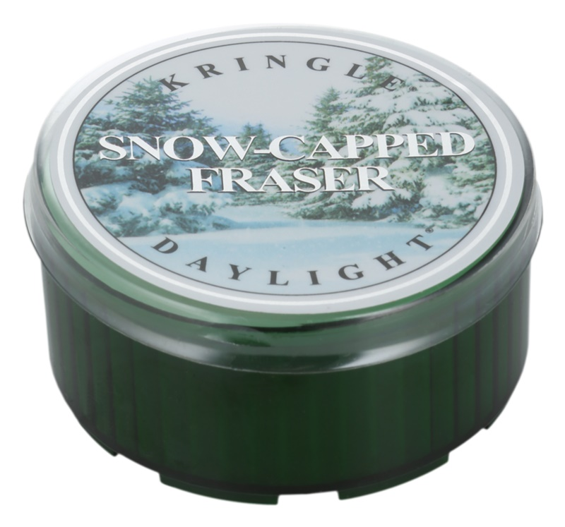 Kringle Candle Snow Capped Fraser candela scaldavivande 35 g